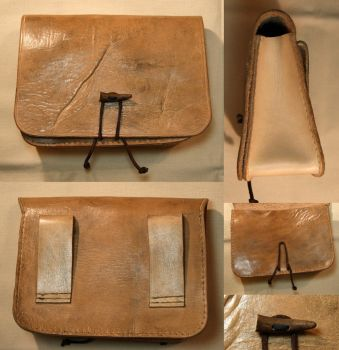Leather Belt Pouch by Avanger