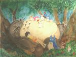 Nap Time in the Camphor Tree by the-zona