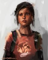 The last of us Ellie by VitoSs