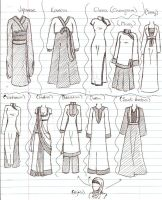 Asian Fashion Overview by TimeStar