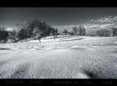 turn the world to ice by Fairpix