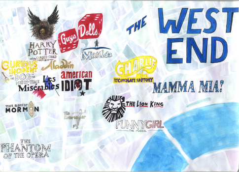 West End Map by hannahmo61