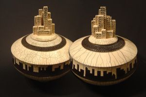 Twin Cities by rhodespottery