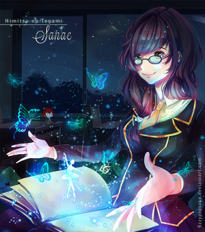 Contest Entry: The Magic of Writing by fizzypopcake