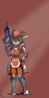 Phantasy Star Online 2:  Tuff by Dreatos