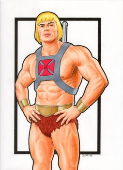He-Man (Filmation style) by Promethean-Arts