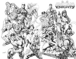 Bayan Knights Issue1 Cover Art by bayanknights