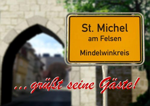 Greeting Card St. Michel am Felsen by Eisenholz