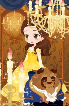 Belle - Ballgown by kyokoaurion
