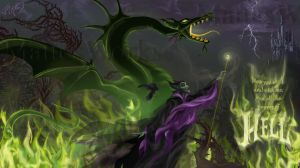 Maleficent Transformation by MattesWorks