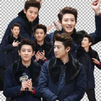 PNG PACK ( EXO - Chanyeol  ) by JulieMin