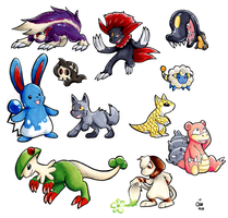 Copic Pokemon 2