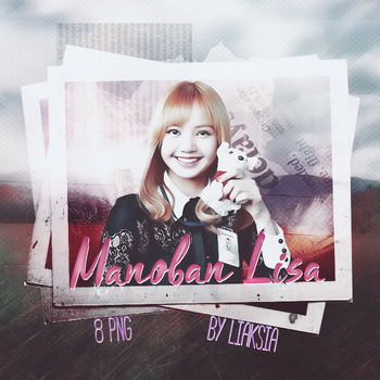BLACKPINK Lisa 8 PNG PACK #13 by liaksia by liaksia