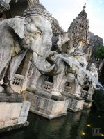 Thailand Elephants 05 by SAYN0THING