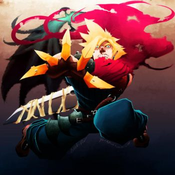 Cloud Strife by Adeto