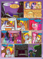 MLP FIM STARS Chapter-4 Stickers Page-40 by MultiTAZker