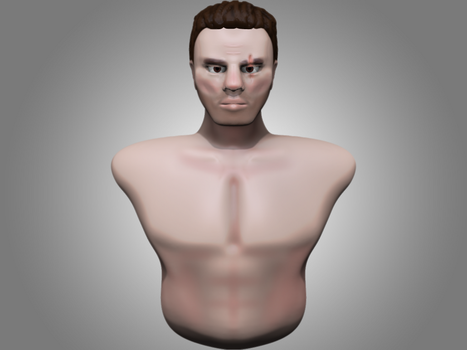 First 3D Character created! by H3r0d4n