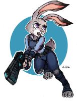Inspector Judy Hopps by TheLivingShadow