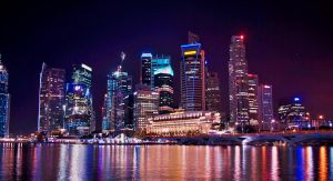 singapore cityscape by nakita