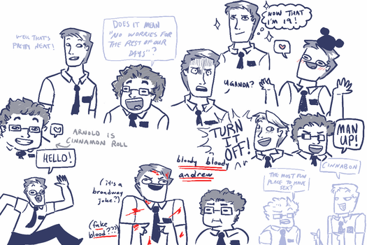 book of mormon doodles by mr-crowbot