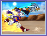 Sonic - Blaze and Sliver by GearGades
