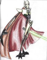 grievous with is blaster by Dark-Luna-chaotik
