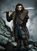 Thorin Oakenshield by Polyne55