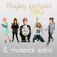 Hayley fotos PNG + M. Extra by lolacreations