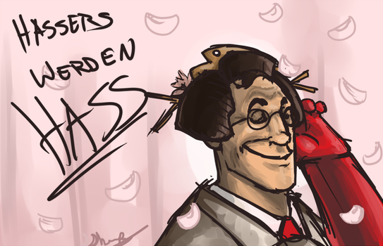 medic and his weave by ToiletMan104