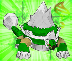 Contest Entry - Mega Torterra by KnightOfTheTempest