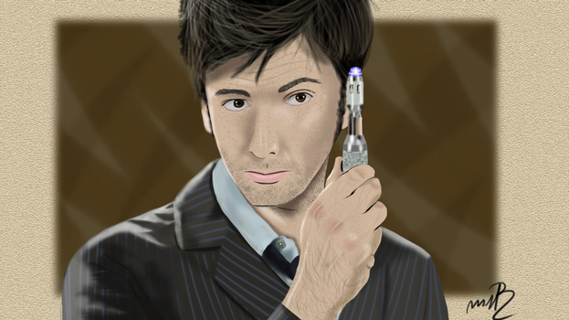 [Commission] David Tennant by MrRudy