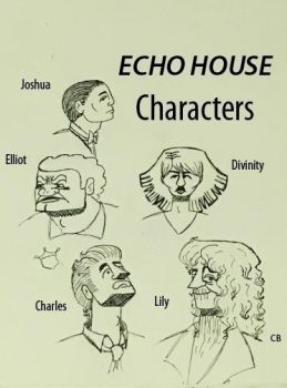 Echo House Character Designs by cjbolan