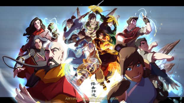 WP Legend of the Avatar by Artipelago