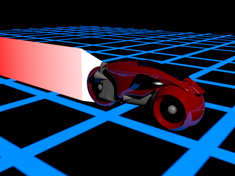 Tron Light Cycle by Neoiel