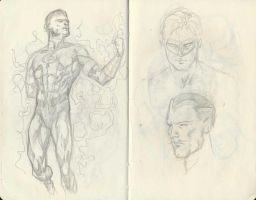 DC Sketch 01 by pansica