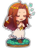 The Legend of Zelda - malon by out69