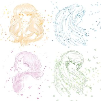 Beauties of the Seasons by WhiteTiger97