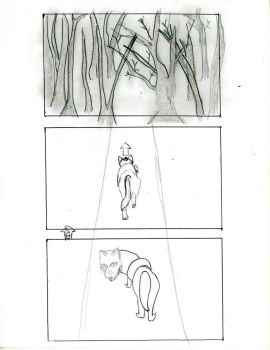 The Dog and The Wolf storyboard Finale! by fanime1