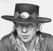 Stevie Ray Vaughan by markstewart