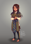 Dalish child concept by KuroCyou