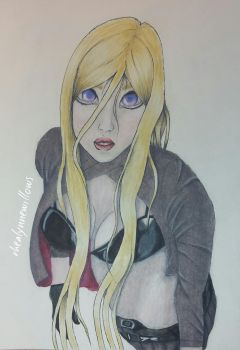 SPEED DRAW | Bishamon | Noragami by rhealynnewillows