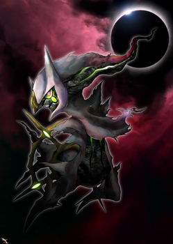 Arceus, the Spirit of Creation by Xous54
