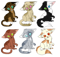 Adoptables Batch 3 by icrystalline