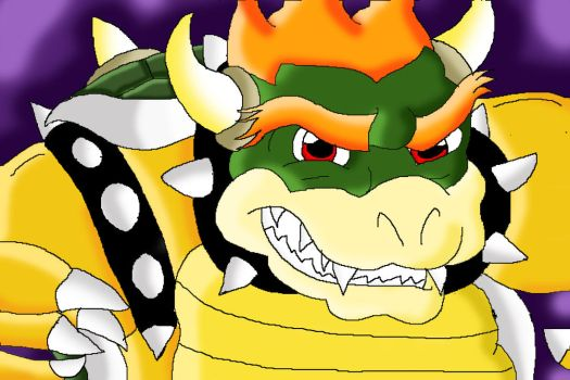 A whole new style of Bowser by T-Koopa