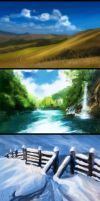 Speed Paint Dump - 1 by Seanica