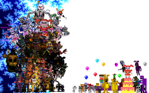 Five Nights at Freddys, Thank you! [My ver/UPDATE] by TheGoldenGamer90010