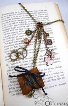 Steam punk necklace by cybelemoon