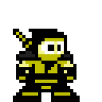 8-Bit MK Scorpion by LPugh
