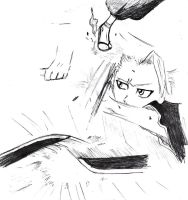 Toshiro sketch by snowpups123