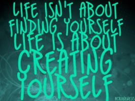 Creating Yourself by acrogenesis